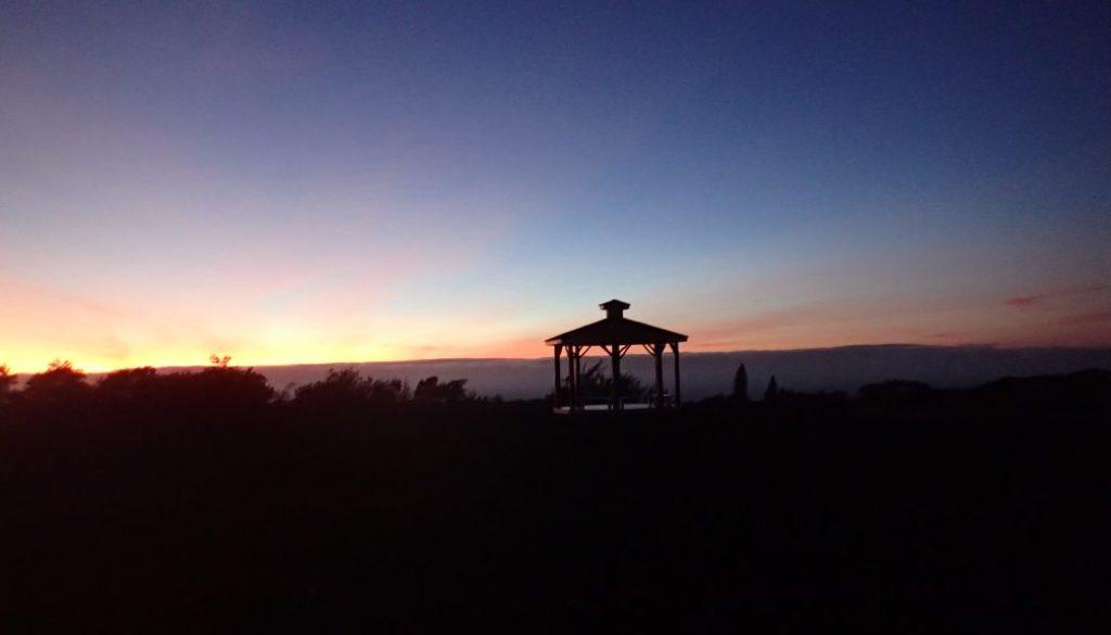 Gazebo Sunrise Distance