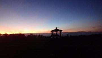 Gazebo Sunrise Distance